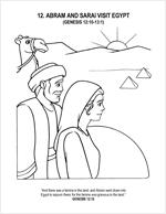 Abram and Sarai Visit Egypt
