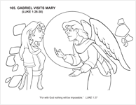 Gabriel Visits Mary