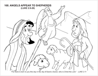 Angels Appear to Shepherds