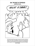 bible coloring pages acts 27 22 | Acts through Galatians (NT) – Calvary Curriculum