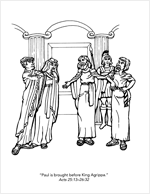 Paul Goes Before Agrippa