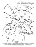 Adam & Eve Are Tempted