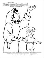 Hannah Gives Samuel to God