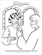Coloring Pages Of Matthew 1 18 25 Coloring Pages