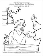 Jesus Heals Blind Bartimaeus